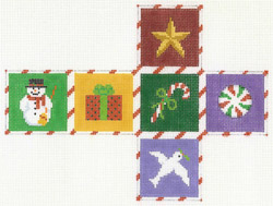 CUBED ORNAMENT - CHRISTMAS MOTIFS