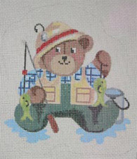 FISHERMAN TEDDY BEAR
