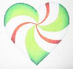 PINWHEEL HEART - A